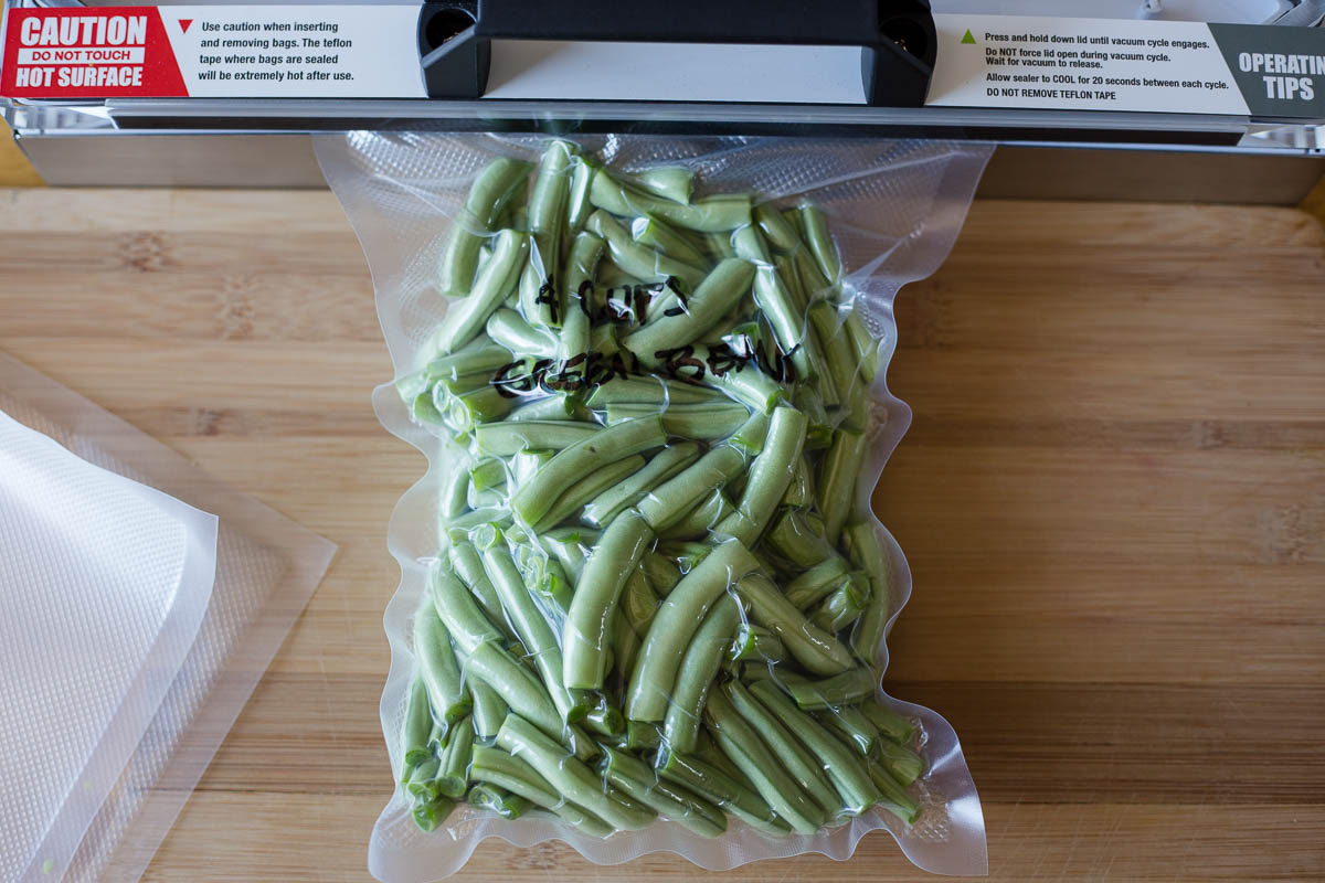 Field To Frozen Green Beans For Days Or Years Avid